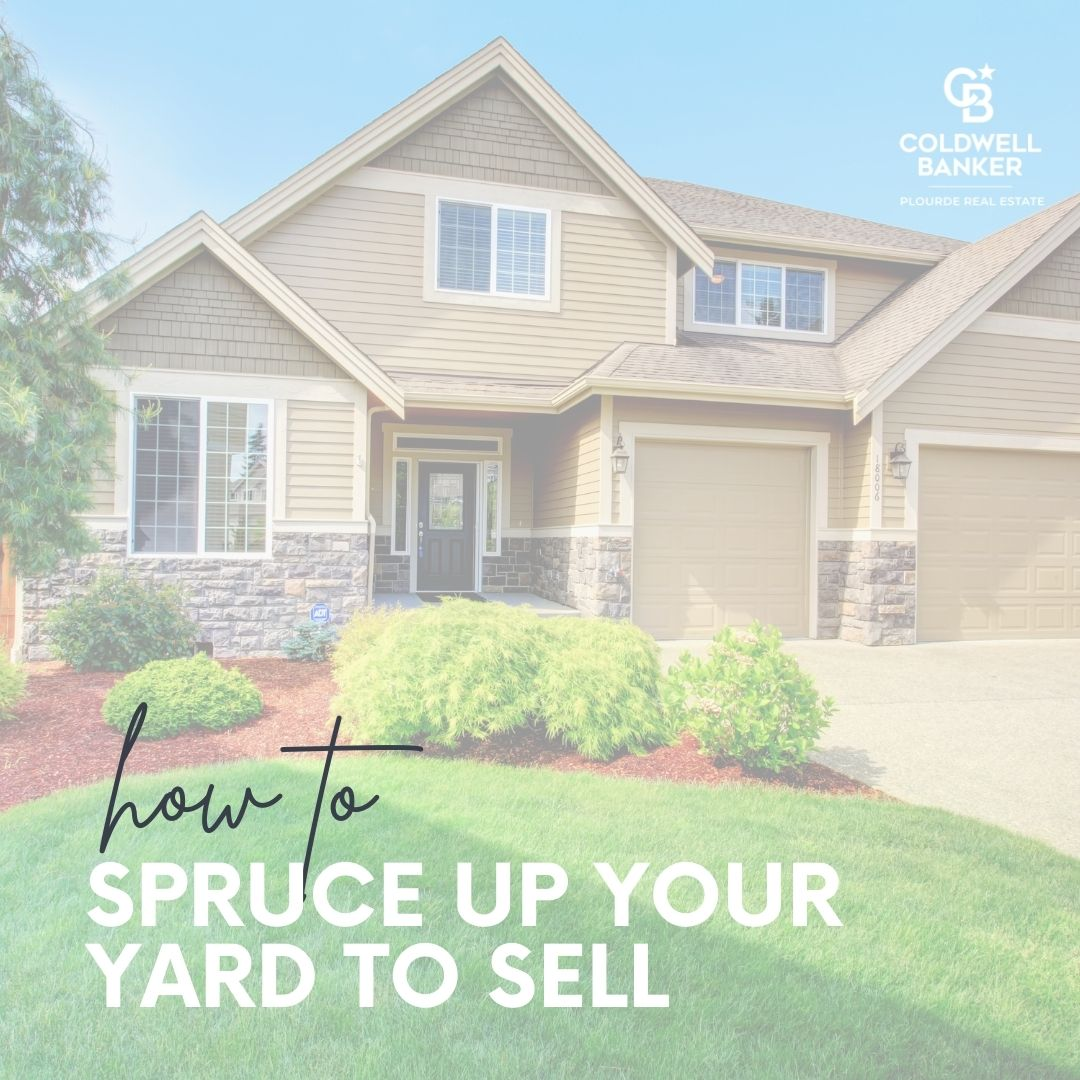 How to Spruce Up Your Yard to Sell