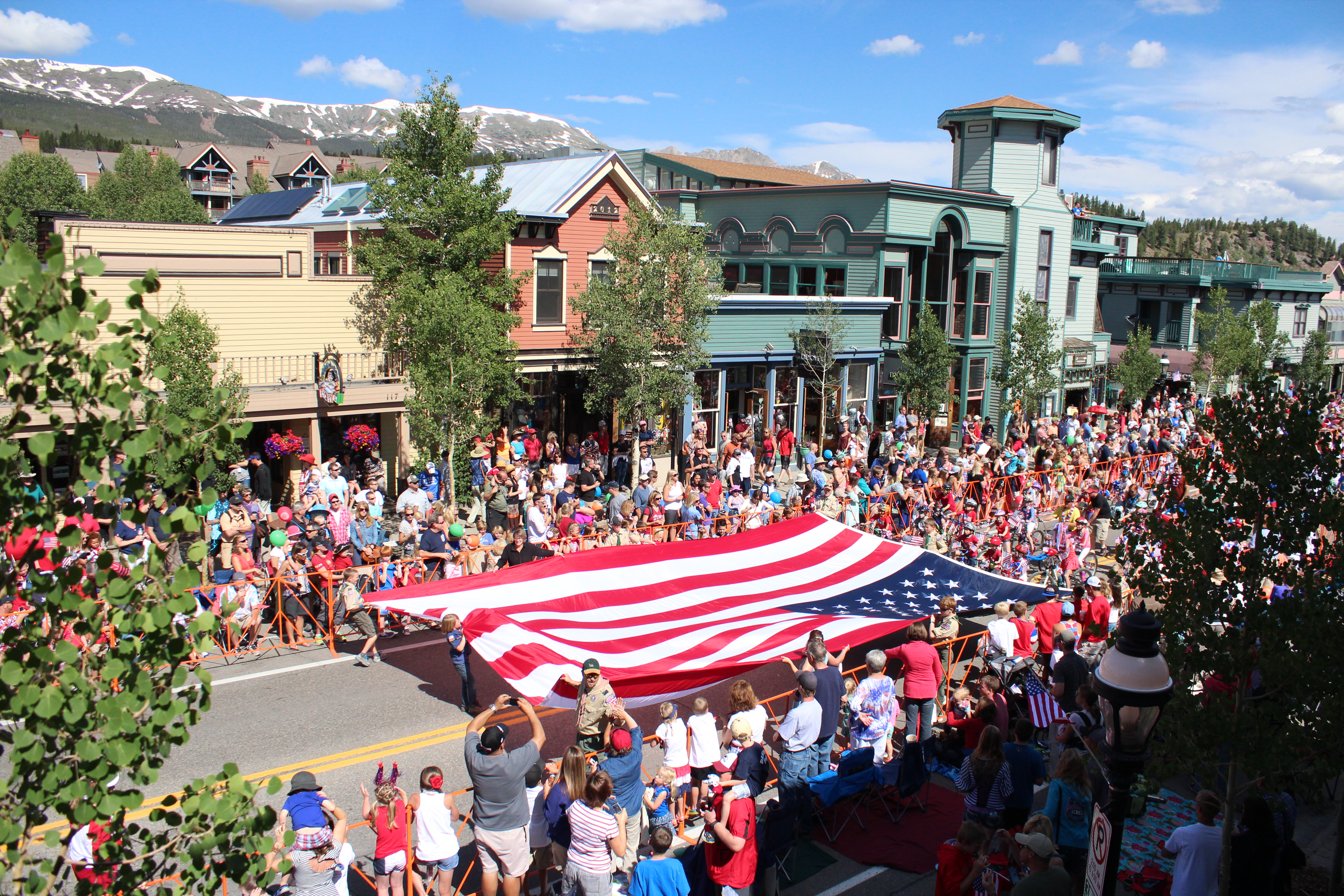 4th of July Parade in Breckenridge