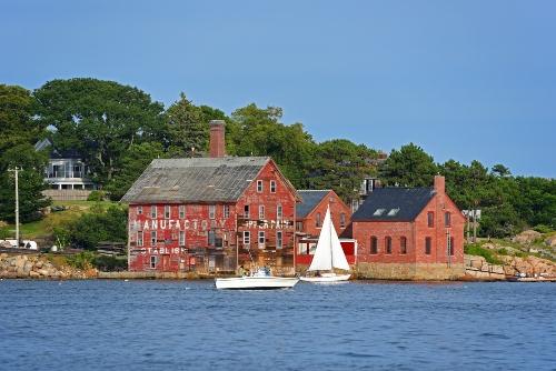 Landmark in Gloucester Harbor