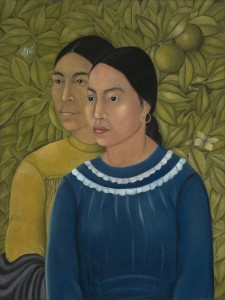 Dos Mujeres (Salvadora y Herminia) Frida Kahlo (Mexican, 19071954) 1928 Oil on canvas * Museum of Fine Arts, Boston. Charles H. Bayley Picture and Paintings Fund, William Francis Warden Fund, Sophie M. Friedman Fund, Ernest Wadsworth Longfellow Fund, Tompkins CollectionArthur Gordon Tompkins Fund, Gift of Jessie H. WilkinsonJessie H. Wilkinson Fund, and Robert M. Rosenberg Fund * Photograph Museum of Fine Arts, Boston