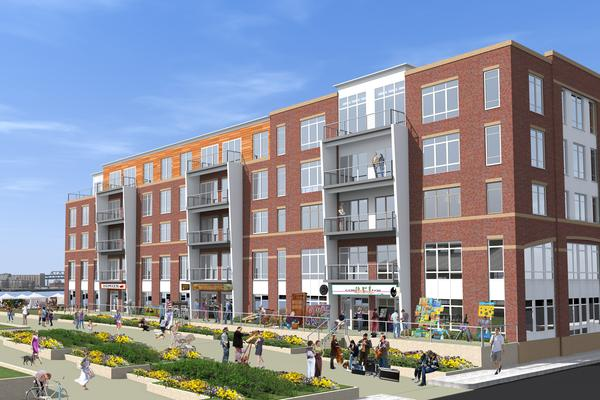East Boston Real Estate, Boston Real Estate, Boston Development, East Boston Development, Roseland Property Co., Portside at Pier One, Trinity Financial