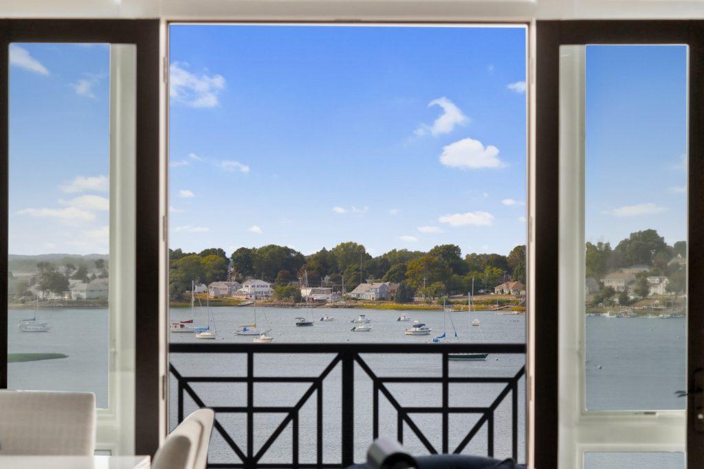 Hingham harbor view