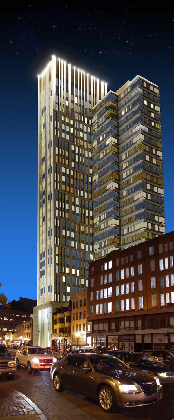 AVA Theater District, Theater District Boston, AvalonBay Communities, CBT Architects, Boston Real Estate