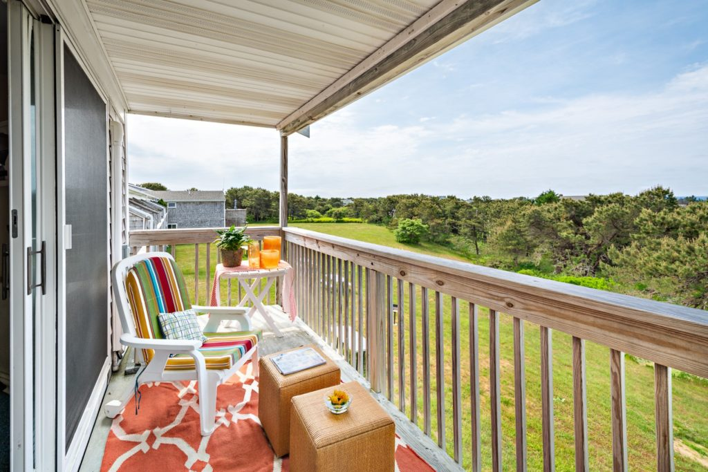 Cape Cod views from balcony