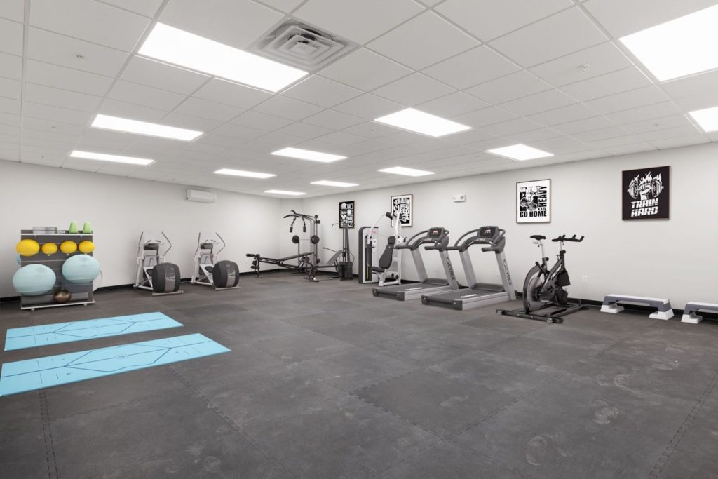 Residential building gym