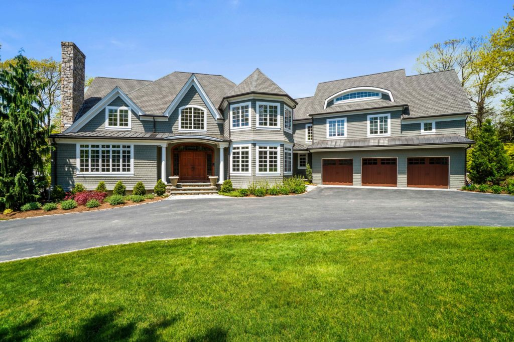 Exterior home with driveway