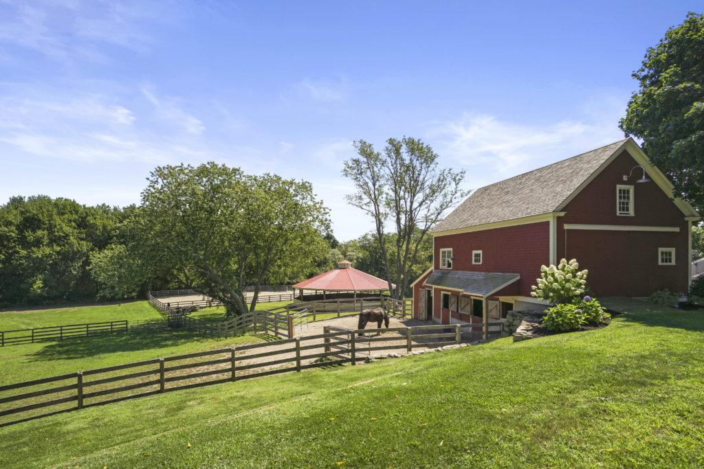 Barn and yard views