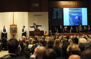 The Scream, Edvard Munch, The Scream Auction, Sotheby's Auction House, The Scream Sells