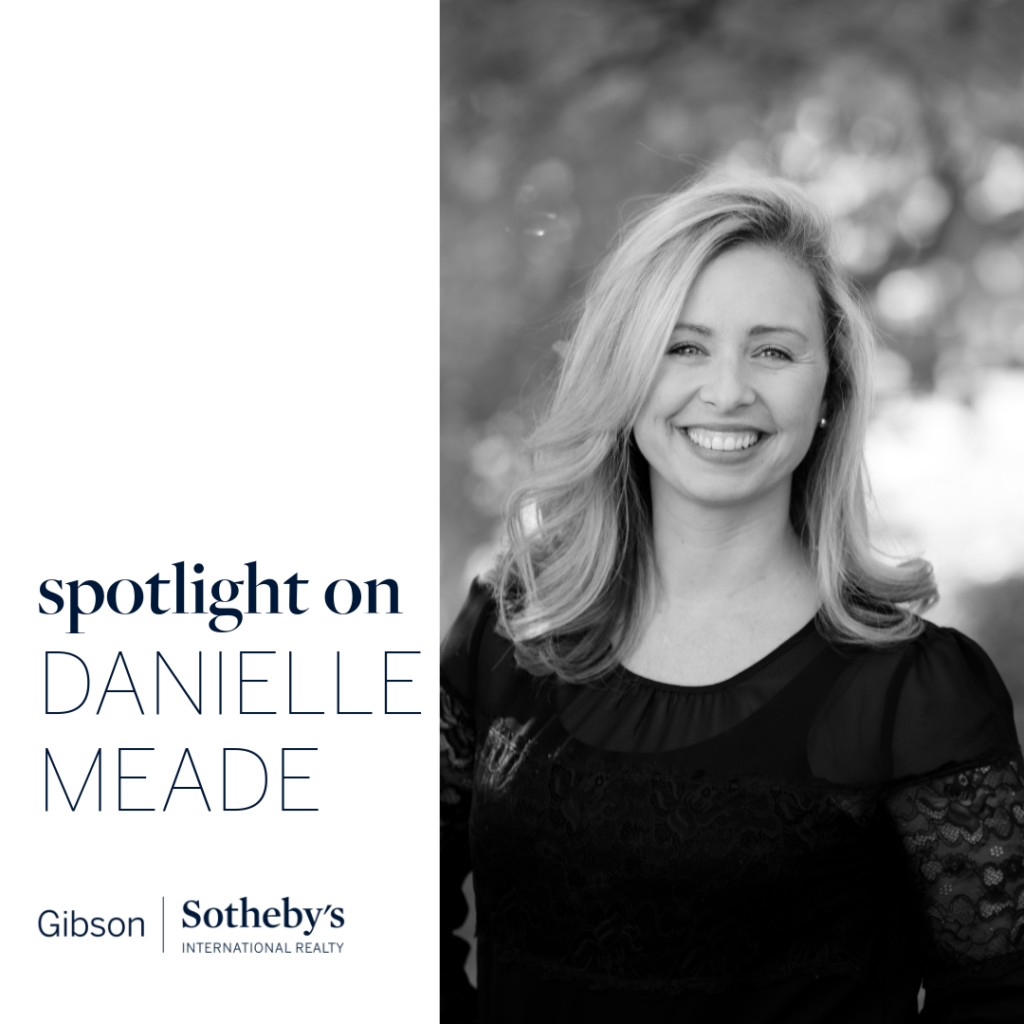 Real estate agent Danielle Meade