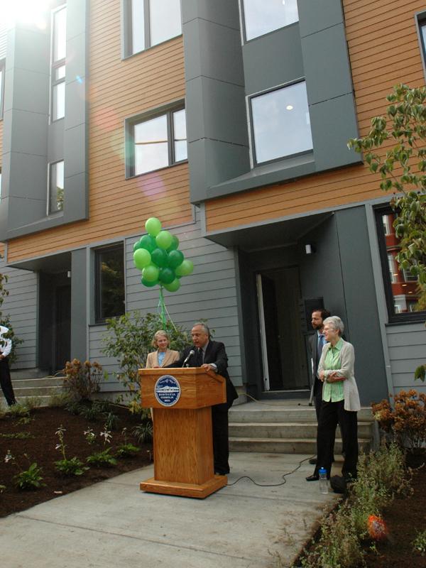 Urbanica Inc, E+ Homes, Mayor Thomas M. Menino, Boston Real Estate, Green Real Estate Fort Hill Real Estate, Roxbury Real Estate