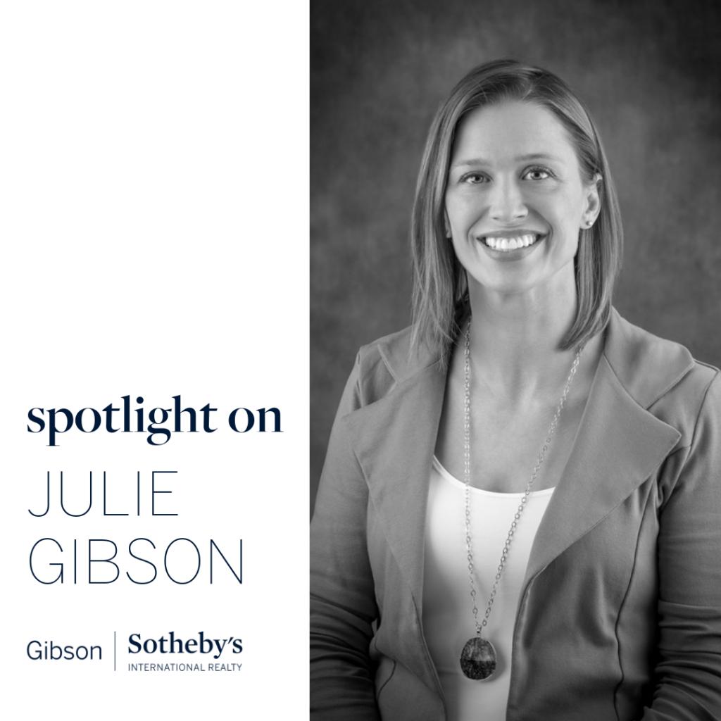 Julie Gibson real estate agent