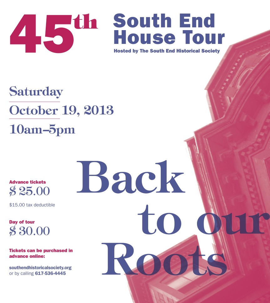 South End House Tour, South End Historical Society, South End Events, South End Boston, South End Neighborhood, Boston News, Boston Events, South End News