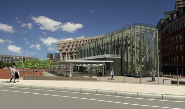 Boston MBTA, Boston Transportation, Boston Government Center, Boston T, Boston Subway, Government Center Station