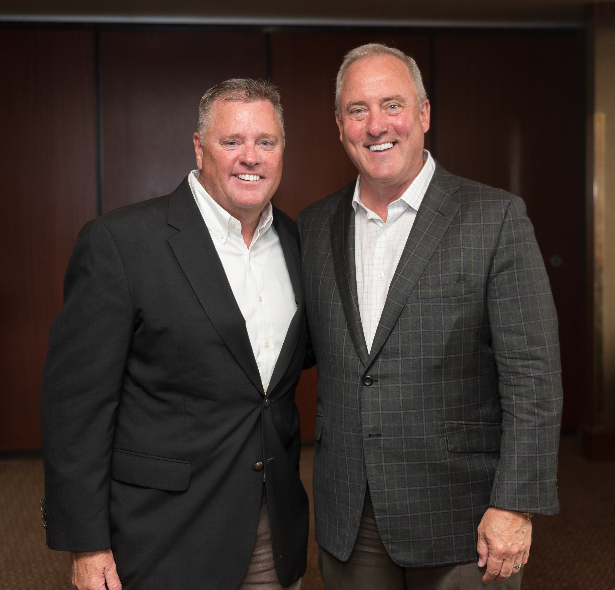 Gibson Sotheby's International Realty co-owners, Larry Rideout and Paul McGann