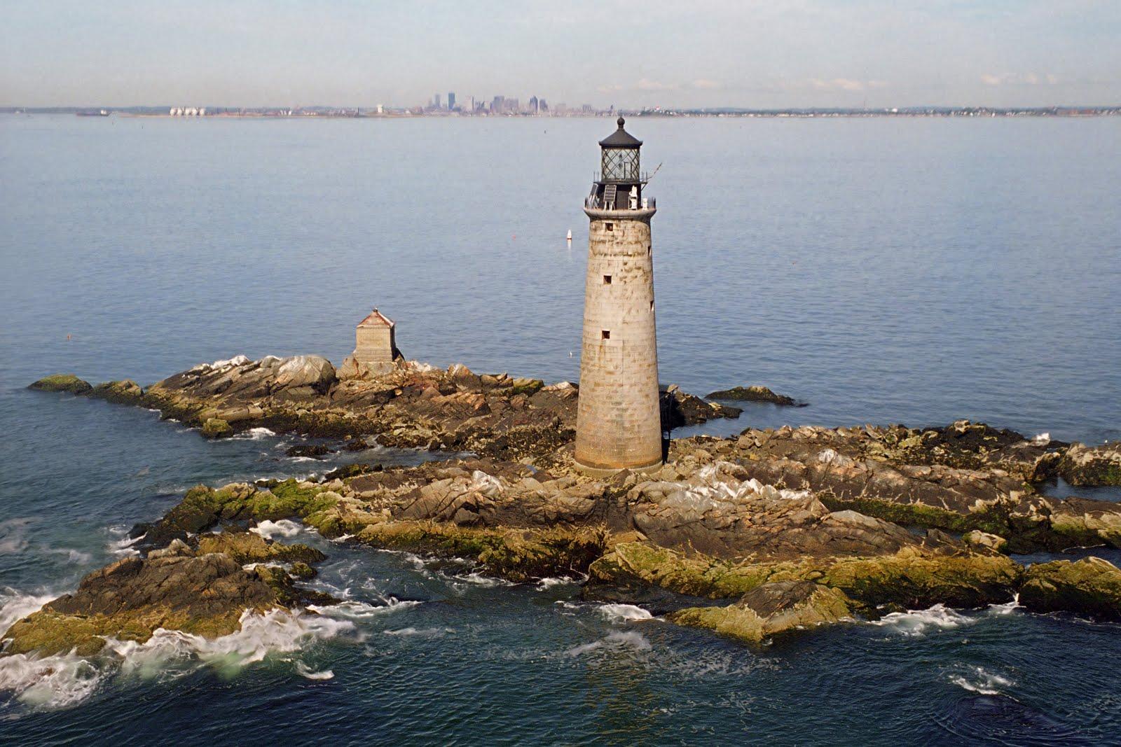 Graves Lighthouse, Graves Light, Lighthouse for Sale, Boston Lighthouses, Boston Graves Light, Boston Real Estate, Massachusetts Real Estate