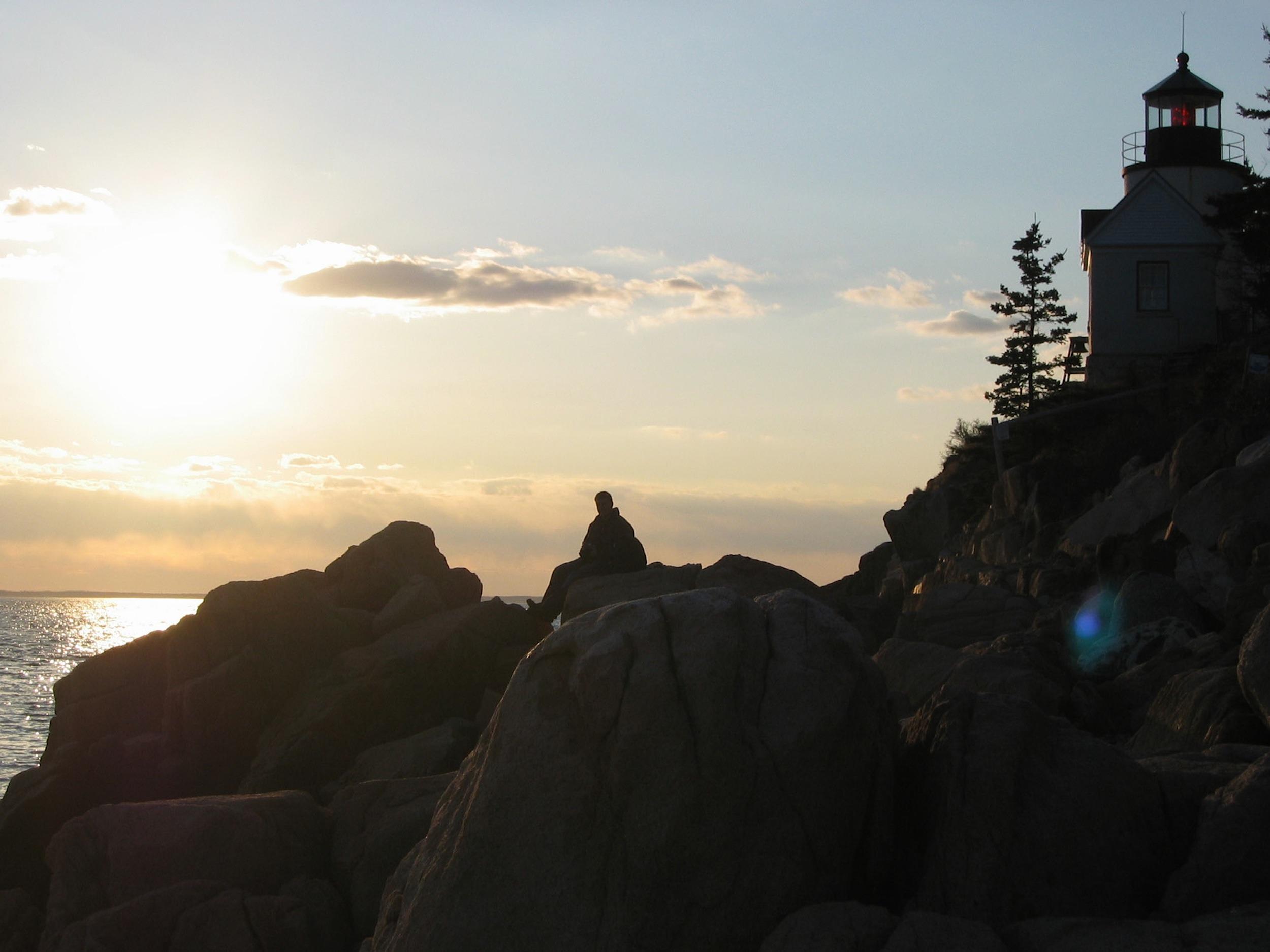 Acadia National Park, Bar Harbor, Maine.