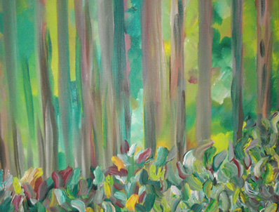 Between the Trees by Eliane Markoff