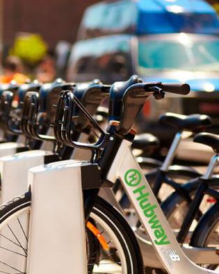 Boston Hubway Bike Share Program Makes Commuting in Boston Easier and Greener