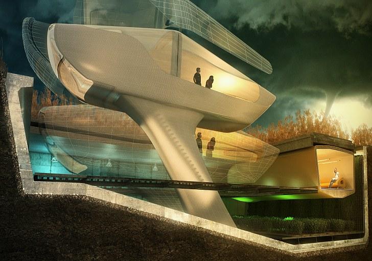 Real Estate News, Tornado Proof Homes, Tornado Homes, Storm Proof Homes, Storm Homes, 10 Design, Buro-Happold