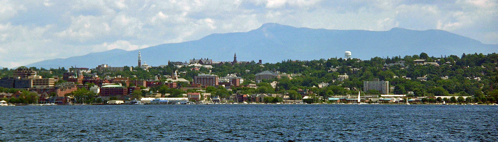 Burlington VT Lake Champlain