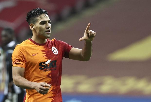 Falcao García, baja de Galatasaray para enfrentar a Denizlispor. / Foto: AFP