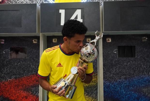 Luis Díaz marcó 4 goles en la Copa América. / Foto: FCF