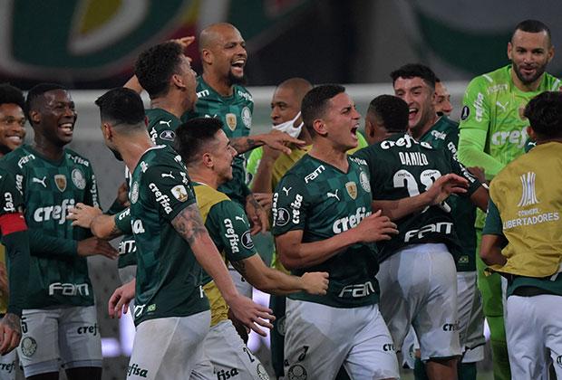 Palmeiras goleó a Sao Paulo en los cuartos de final vuelta. / Foto: AFP