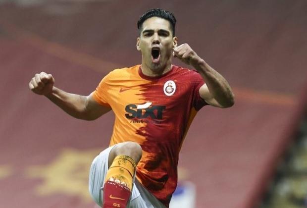 Falcao rescindió su contrato con Galatasaray / AFP