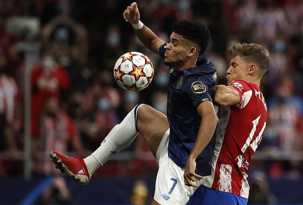 Atlético de Madrid empató sin goles con Porto. / Foto: AFP