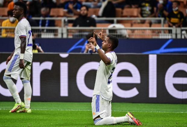 Rodrygo anotó el único gol del compromiso. / Foto: AFP