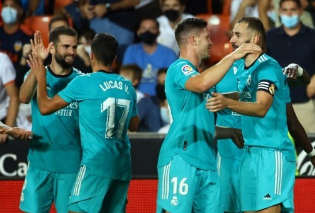 Real Madrid suma 13 puntos de 15/ AFP