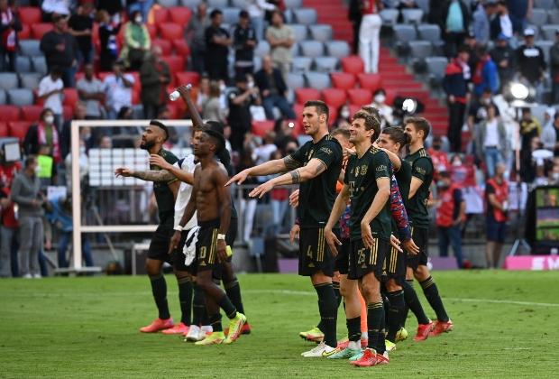 Bayern goleó 7-0 a Bochum / AFP