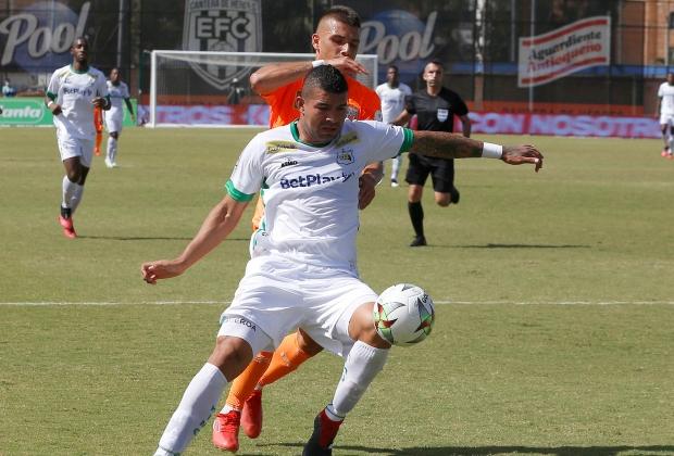 Envigado y Quindío empataron a un gol | Foto: VizzorImage / Donaldo Zuluaga
