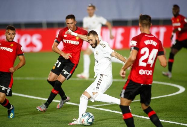Real Madrid vs Mallorca en la temporada 2020-2021 / Foto AFP