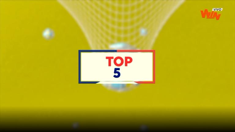 Top 5 de atajadas de la fecha 10