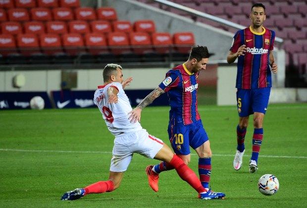 LaLiga | Barcelona no pasó del empate en casa frente a Sevilla