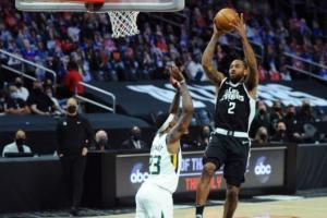 Clippers superó 132-106 a Jazz. / Foto: AFP