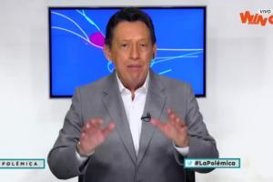 Óscar Rentería, panelista La Polémica