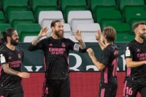 Real Madrid sufrió, pero logró remontar frente a Betis