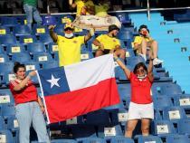 La hinchada chilena también acompañó / VizzorImage - Jairo Cassiani