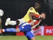 Dávinson Sánchez hizo dupla con Murillo/ AFP