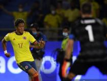 Yairo Moreno fue el lateral izquierdo titular/ AFP