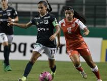 Carolina Arias, capitana de Deportivo Cali. / Foto: VizzorImage - Gabriel Aponte