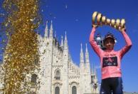 Así vivió la familia de Egan la gran victoria en el Giro