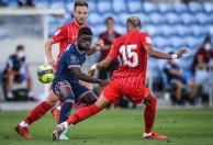 PSG y Sevilla empataron 2-2 en amistoso. / Foto: AFP