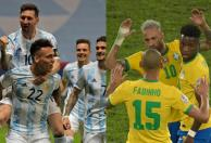 La final de la Copa América en números / Fotos AFP