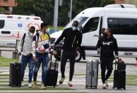 Llegan primeros jugadores de la selección Colombia / FCF