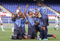 Fortaleza venció en condición de visitante a Atlético en el Torneo BetPlay. Foto: VizzorImage / Samir Rojas