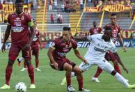 Tolima y Cali igualaron 1-1 en Ibagué