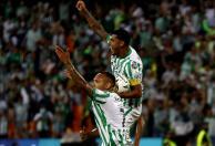Nacional venció a Santa Fe 1-0 y llevó la llave a los penales. Foto: VizzorImage /Juan A. Cardona